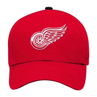 Front (Adidas Detroit Red Wings Basic Youth Hat)