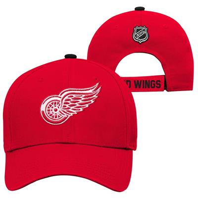 Detroit Red Wings (Adidas Detroit Red Wings Basic Youth Hat)
