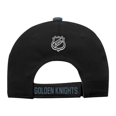 Back (Adidas Vegas Golden Knights Basic Youth Hat)