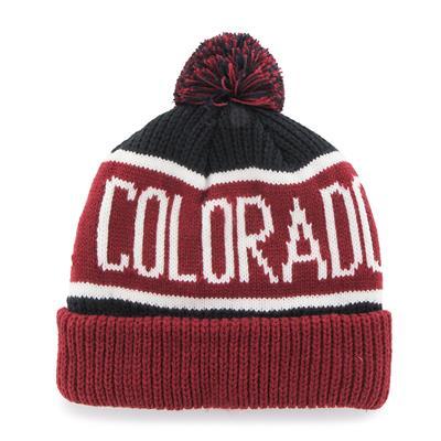 (47 Brand Calgary Cuff Knit Hat - Colorado Avalanche)