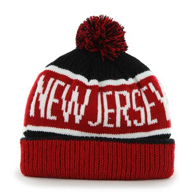 (47 Brand Calgary Cuff Knit Hat - New Jersey Devils)
