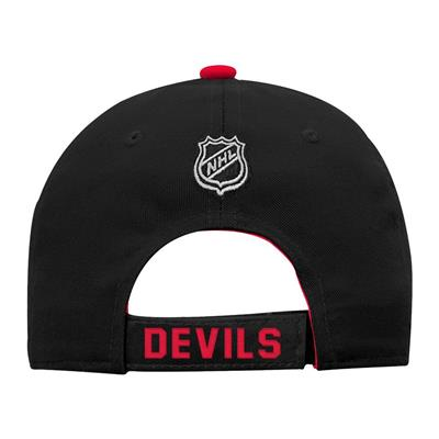 Back (Adidas New Jersey Devils Basic Youth Hat)