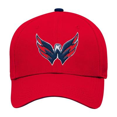 Front (Adidas Washington Capitals Basic Youth Hat)