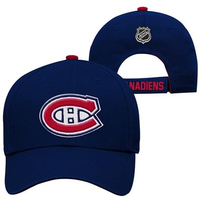 Montreal Canadiens (Adidas Montreal Canadiens Basic Youth Hat)