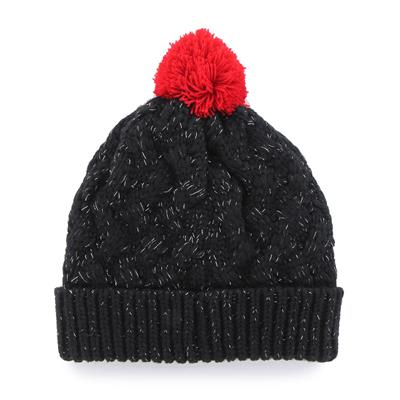 (47 Brand Fiona Cuff Knit Hat - Chicago Blackhawks)