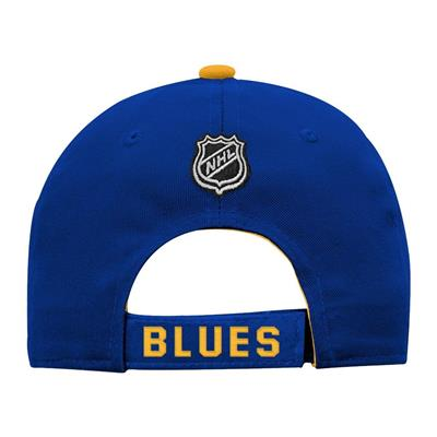 Back (Adidas St. Louis Blues Basic Youth Hat)