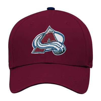 Front (Adidas Colorado Avalanche Basic Youth Hat)