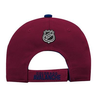 Back (Adidas Colorado Avalanche Basic Youth Hat)