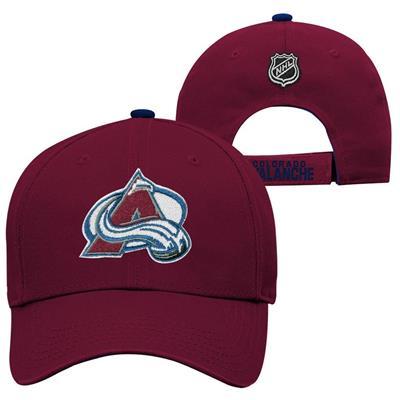 Colorado Avalanche (Adidas Colorado Avalanche Basic Youth Hat)