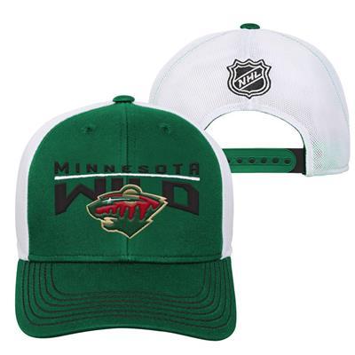Minnesota Wild (Adidas Minnesota Wild Winger Youth Hat)