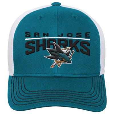 Front (Adidas San Jose Sharks Winger Youth Hat)