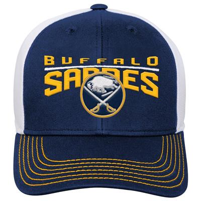 Front (Adidas Buffalo Sabres Winger Youth Hat)
