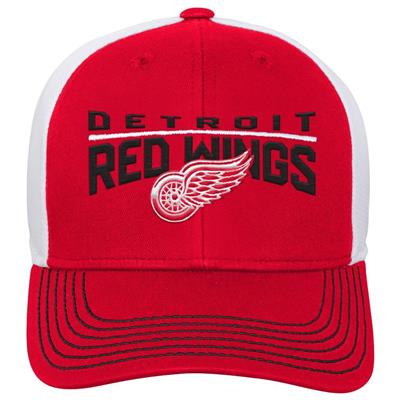 Front (Adidas Detroit Red Wings Winger Youth Hat)