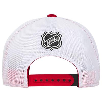 Back (Adidas Detroit Red Wings Winger Youth Hat)