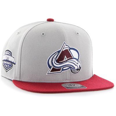 (47 Brand Sure Shot CAPTAIN Hat - Colorado Avalanche)