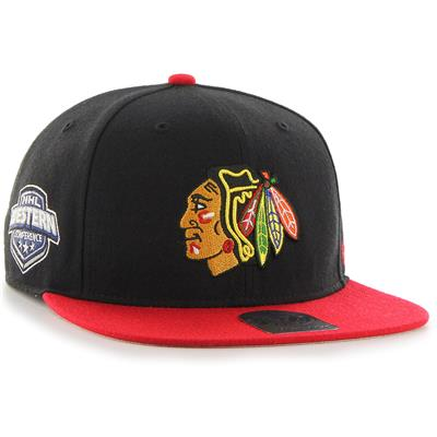 (47 Brand Sure Shot CAPTAIN Hat - Chicago Blackhawks)