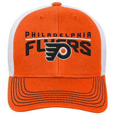 Front (Adidas Philadelphia Flyers Winger Youth Hat)