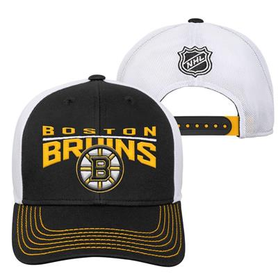 Boston Bruins (Adidas Boston Bruins Winger Youth Hat)