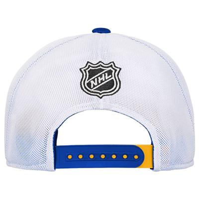 Back (Adidas St. Louis Blues Winger Youth Hat)
