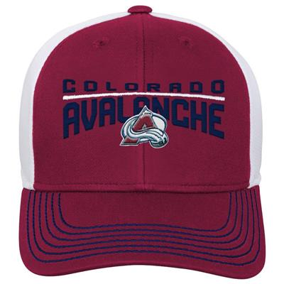 Front (Adidas Colorado Avalanche Winger Youth Hat)