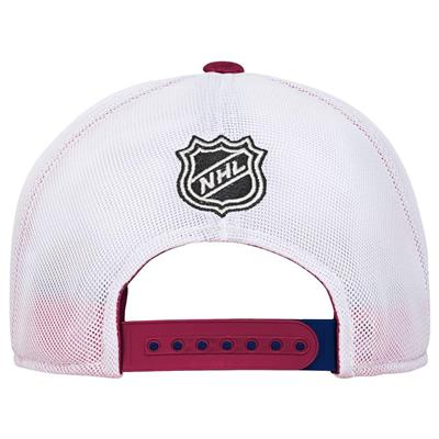 Back (Adidas Colorado Avalanche Winger Youth Hat)