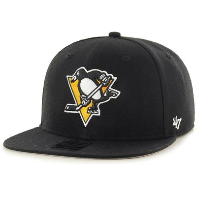 (47 Brand Sure Shot CAPTAIN Hat - Pittsburgh Penguins)
