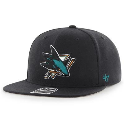 (47 Brand Sure Shot CAPTAIN Hat - San Jose Sharks)