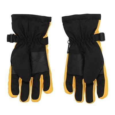 Back (Adidas Nylon Winter Gloves - Boston Bruins - Youth)