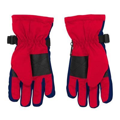 Back (Adidas Nylon Winter Gloves - Washington Capitals - Youth)
