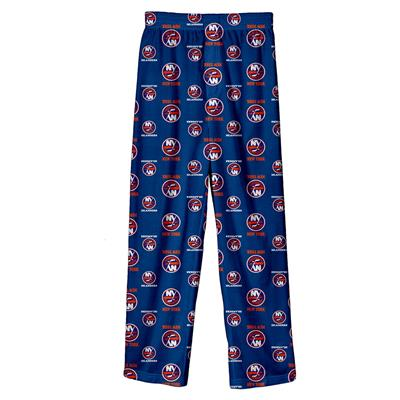 (Adidas Printed Pajama Pants - New York Islanders - Youth)