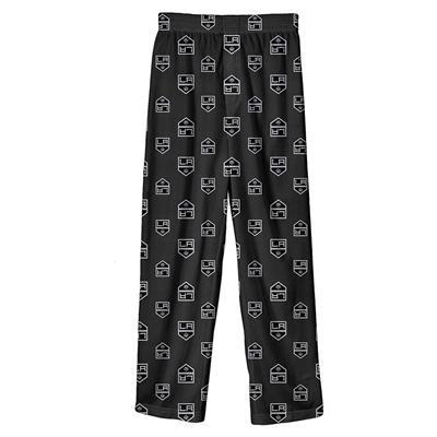(Adidas Printed Pajama Pants - Los Angeles Kings - Youth)