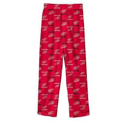 (Adidas Printed Pajama Pants - Detroit Red Wings - Youth)