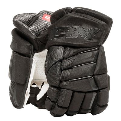 Black/Black (CCM JetSpeed Purelite Hockey Gloves - Senior)