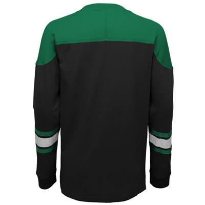 Back (Adidas Dallas Stars Perennial Long Sleeve Tee Shirt - Youth)