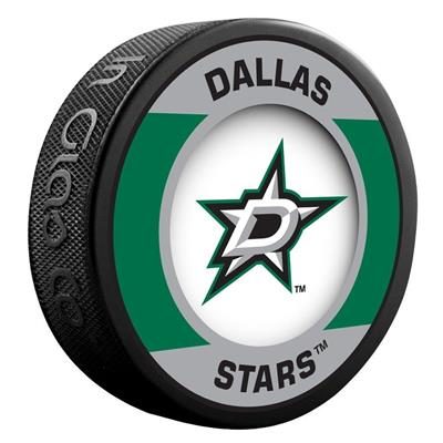 (InGlasco NHL Retro Hockey Puck - Dallas Stars)