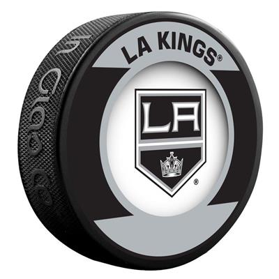(InGlasco NHL Retro Hockey Puck - Los Angeles Kings)