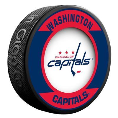 (InGlasco NHL Retro Hockey Puck - Washington Capitals)