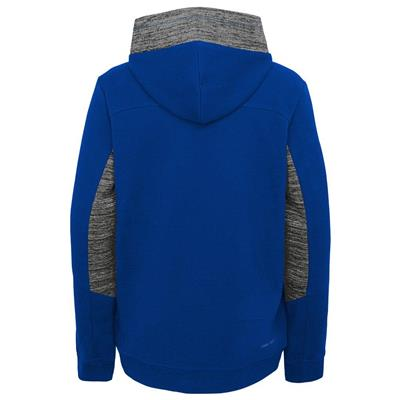 Back (Adidas Hyper Physical Hoodie - St. Louis Blues - Youth)