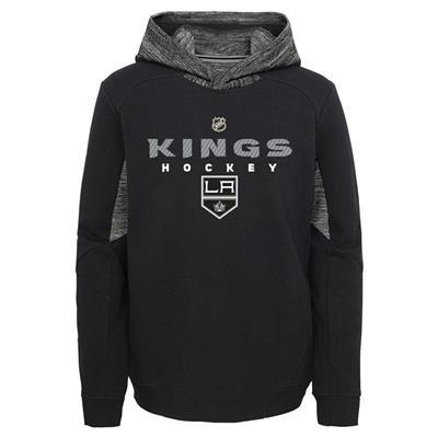 Front (Adidas Hyper Physical Hoodie - Los Angeles Kings - Youth)