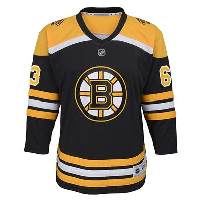 Front (Adidas Boston Bruins Marchand Jersey - Youth)