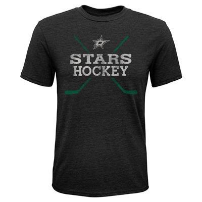 Dallas Stars (Adidas Dallas Stars Score Short Sleeve Tee Shirt - Youth)