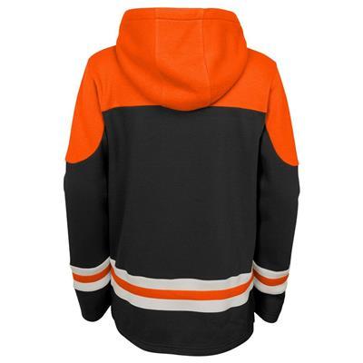 Back (Adidas Anaheim Ducks Asset Pullover Hoodie - Youth)