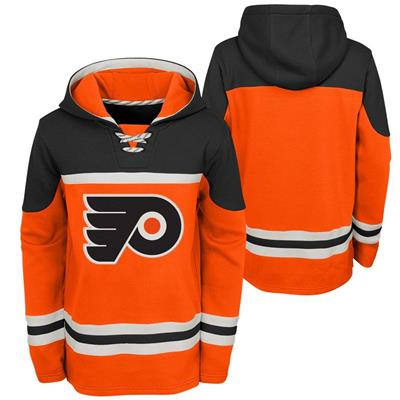 (Adidas Philadelphia Flyers Asset Pullover Hoodie - Youth)
