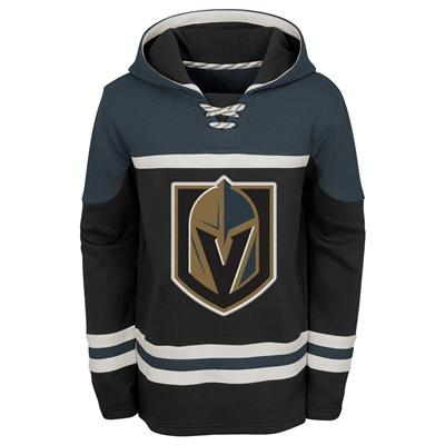 Front (Adidas Vegas Golden Knights Asset Pullover Hoodie - Youth)