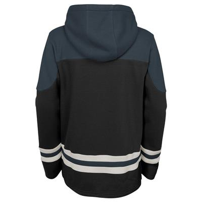Back (Adidas Vegas Golden Knights Asset Pullover Hoodie - Youth)