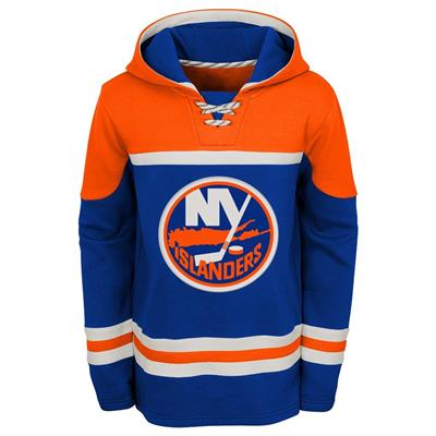 Front (Adidas New York Islanders Asset Pullover Hoodie - Youth)