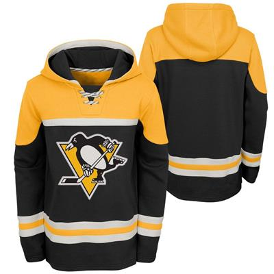 (Adidas Pittsburgh Penguins Asset Pullover Hoodie - Youth)