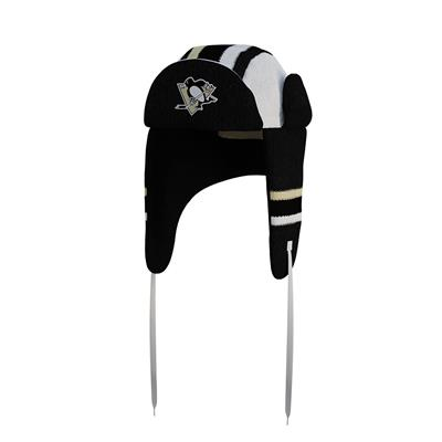 (Hockey Sockey Pittsburgh Penguins Reversible Trapper Hat - Adult)