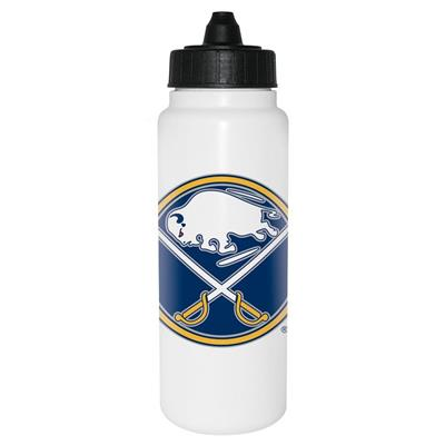 (InGlasco NHL Water Bottle - Tall Boy 1000ml - Buffalo Sabres)