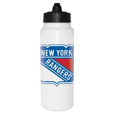 (InGlasco NHL Water Bottle - Tall Boy 1000ml - New York Rangers)
